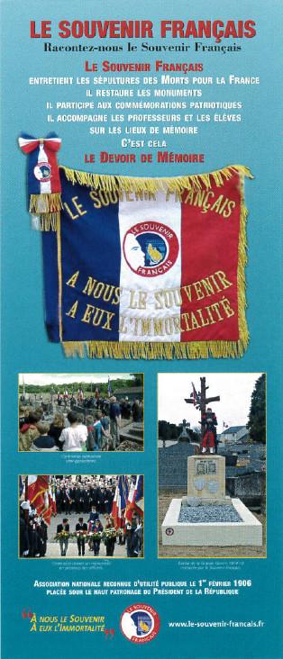 """Exposition """"Le Souvenir Français"""" du 23 août au 3 septembre cour anglaise de l'hôtel de ville"""