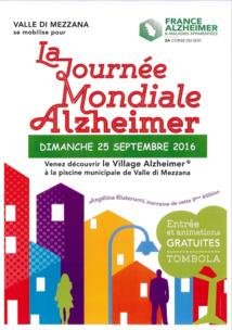 Journée Mondiale Alzheimer dimanche 25 septembre