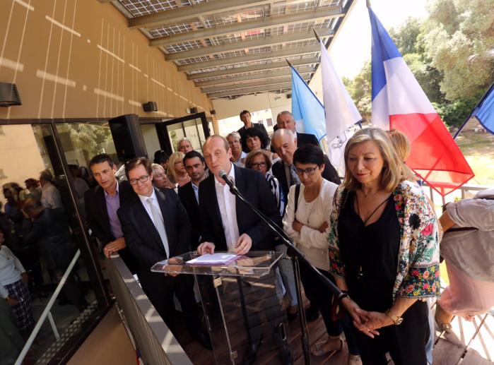 Inauguration de la maison de quartier des Cannes