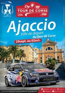 Tour de Corse 2016 Ajaccio Ville de départ 29 septembre au 4 octobre
