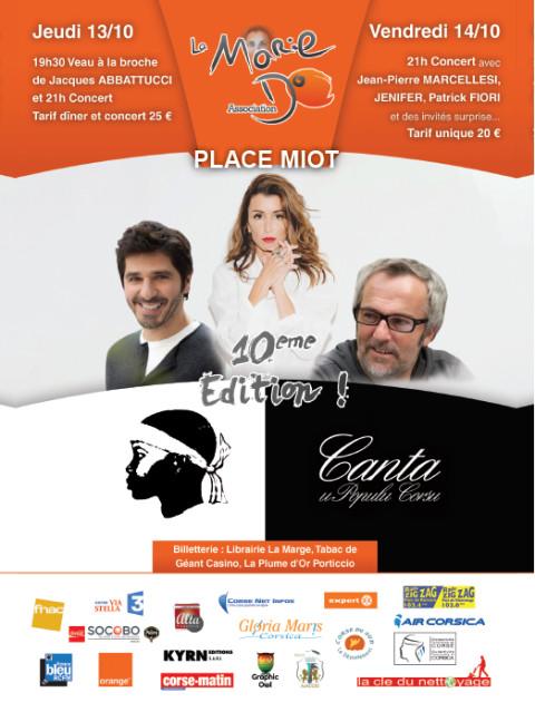 10 ème édition de la fête de La Marie Do 13 au 16 octobre Place Miot