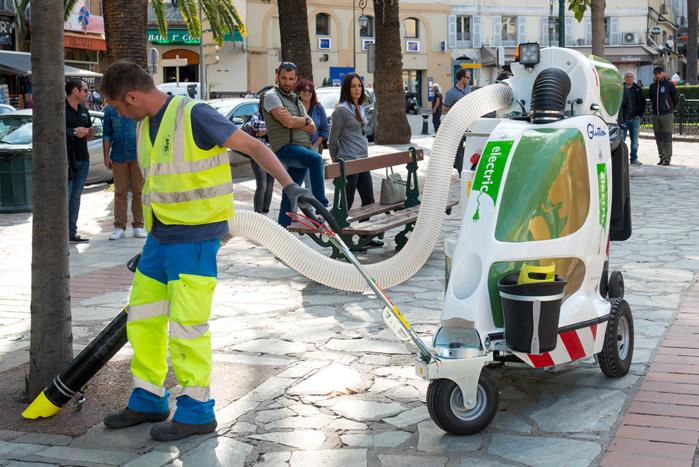 « L'aspi glutton » débarque dans les rues d'Ajaccio