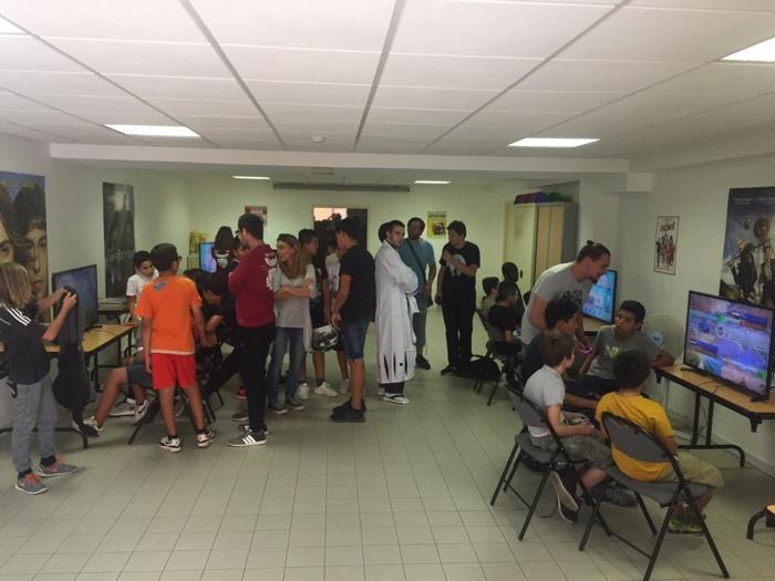 """L'association """"Nustrale Gaming"""" aux Jardins de l'Empereur et aux Salines"""