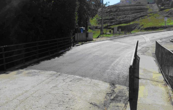 Visite du député-maire suite aux travaux sur le pont de la Confina