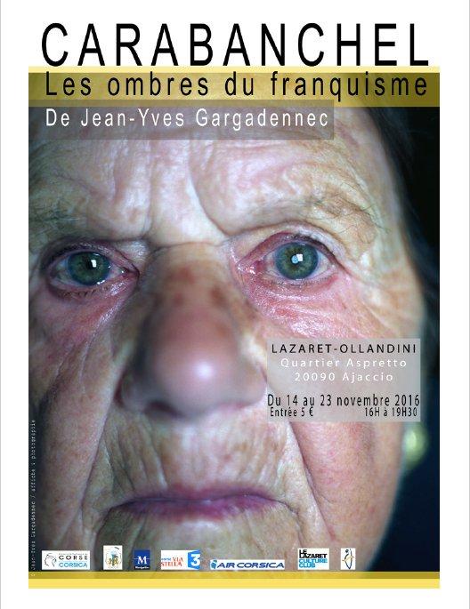 Exposition Carabanchel les ombres du franquisme du 14 au 23 Novembre au Lazaret