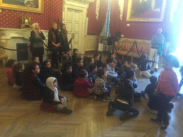 Visite du Salon Napoléonien