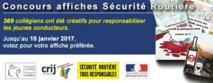 Concours affiches Sécurité Routière