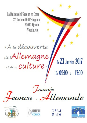 23 janvier 2017 Journée Franco-Allemande