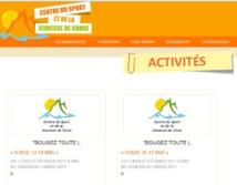 """Animations au Centre du Sport et de la Jeunesse de Corse dans le cadre du programme """"Bougez toute l'année"""""""