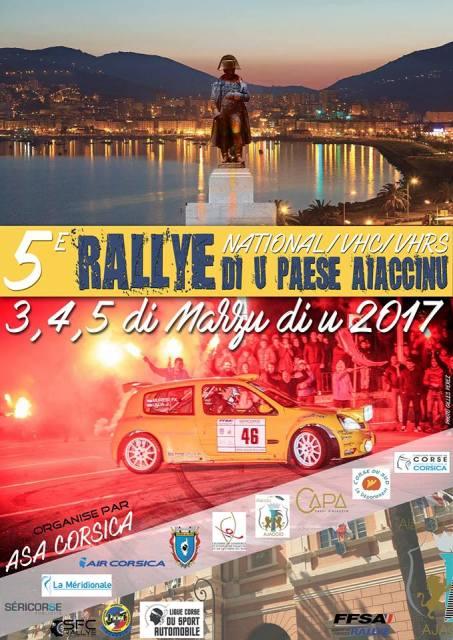RALLYE DU PAYS AJACCIEN 2017