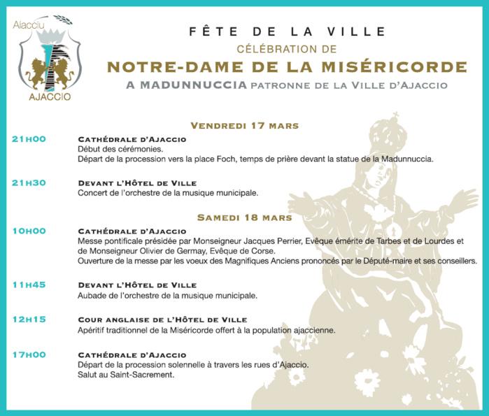 Célébration de Notre-Dame de la Miséricorde vendredi 17 et samedi 18 mars