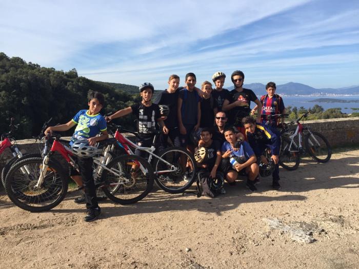 randonnée VTT à Coti Chiavari