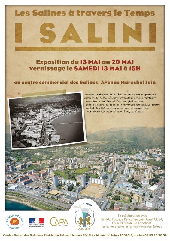 """Exposition """"Les Salines à travers le Temps"""" du 13 au 20 mai"""