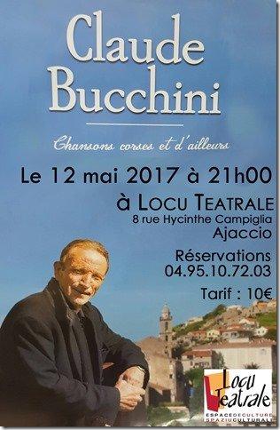 Concert de Claude Bucchini « Chansons corses et d'ailleurs »