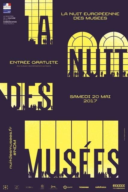 Nuit Européenne des musées 2017 samedi 20 mai