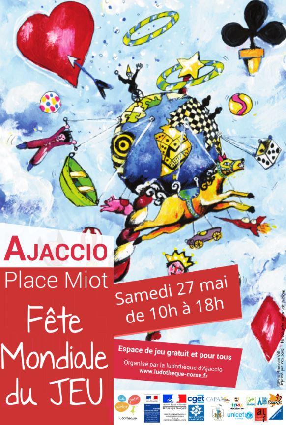 """La """"Fête Mondiale du Jeu"""" à Ajaccio"""