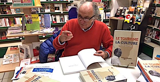 Jeudi 29 juin Rencontre avec François Ollandini à propos de son ouvrage «  Le tourisme, la culture et la Corse »