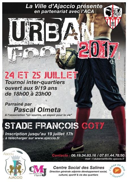 URBAN FOOT, 24 et 25 juillet au stade François Coty