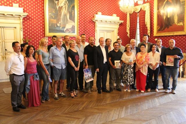 Présentation de la programmation estivale 2017 le mercredi 28 juin au salon Napoléonien en présence de Laurent Marcangeli, des élus de la Ville d'Ajaccio et des différents partenaires
