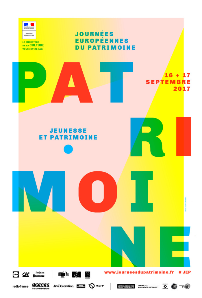 Journées Européennes du Patrimoine les 16 et 17 septembre