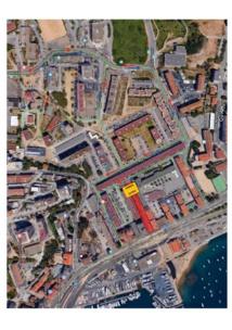 """Plan de Circulation temporaire aux Cannes - JUILLET 2018 - """"Travaux de requalification Cannes-Salines"""""""