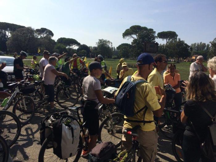 PROJET INTENSE : Un évènement transfrontalier à Pise pour affirmer l'implication de la Ville d'Ajaccio dans le développement d'un itinéraire culturel cyclable transfrontalier