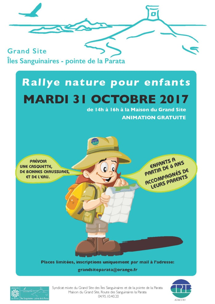 Rallye nature pour enfants