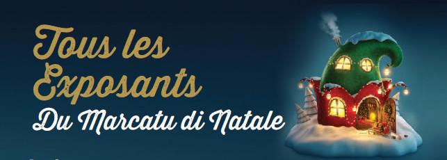 Exposants et créateurs du Marcatu di Natale 2017
