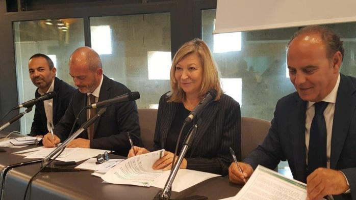 PROJET ADAPT : SIGNATURE DE LA CONVENTION DES MAIRES POUR L'ENERGIE ET LE CLIMAT LE 10 NOVEMBRE 2017 A ALGHERO