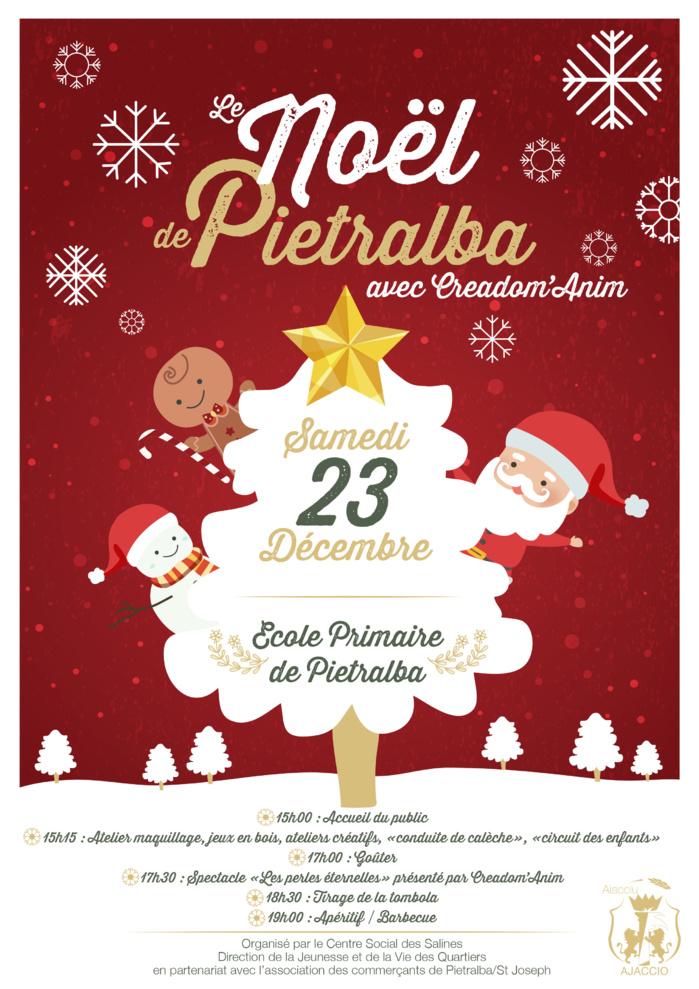 Le Noël de Pietralba demain à partir de 15 heures