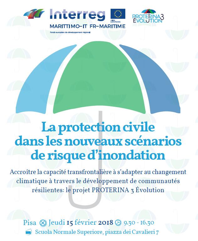 Save the date ! Premier événement de dissémination du projet PROTERINA 3, le 15 février prochain à Pise