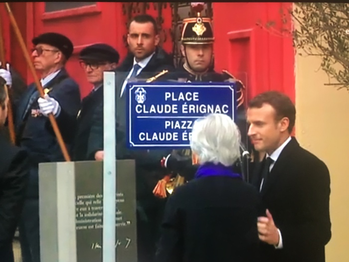 Cérémonie d'hommage au préfet Claude Erignac