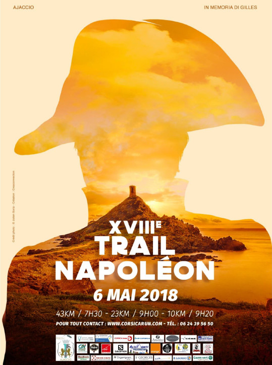 18 ème édition du Trail Napoléon le dimanche 6 mai