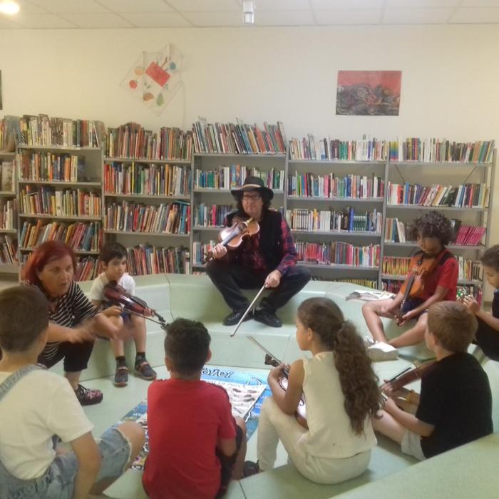Festa di a lingua è di a cultura corsa in e mediateche municipale