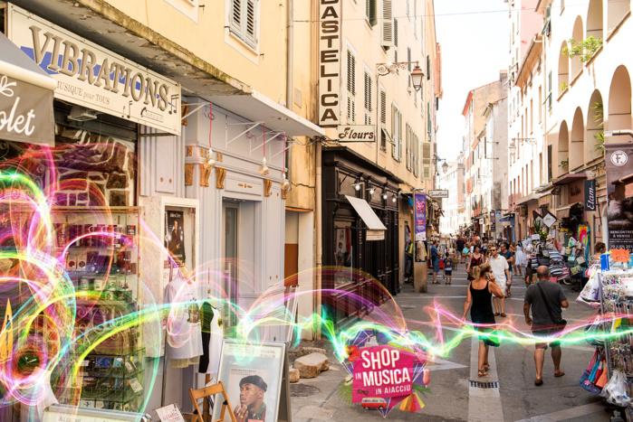 Shop In Musica In Aiacciu 1er juillet au 31 août