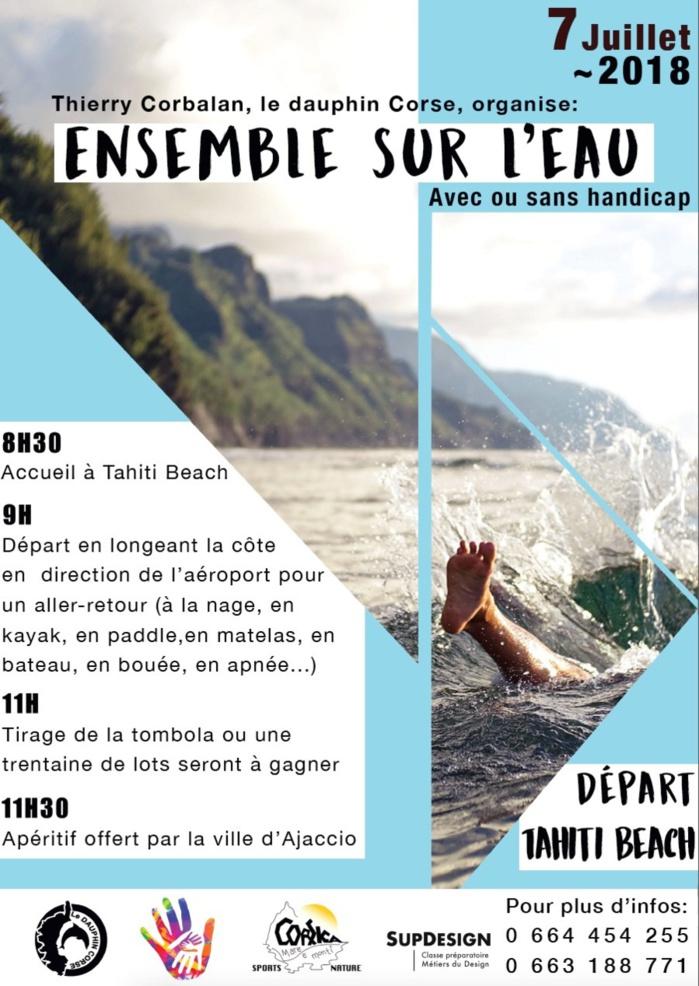 Ensemble sur l'eau avec Thierry Corbalan