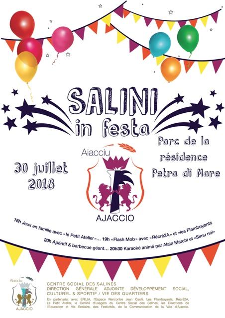 I SALINI IN FESTA le 30 juillet !