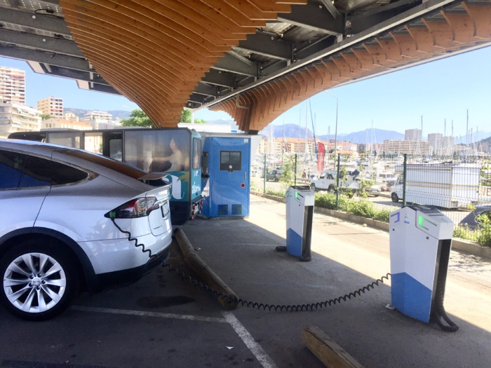 Horodateurs gratuits pour la voiture électrique