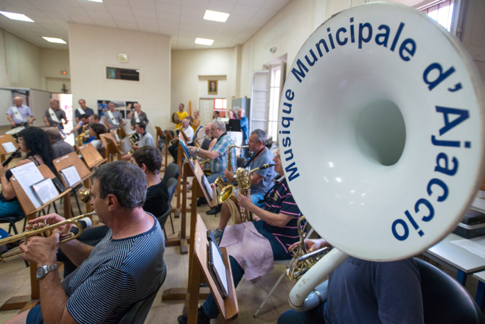 Rentrée des classes de l'école Municipale de Musique d'Ajaccio 2018