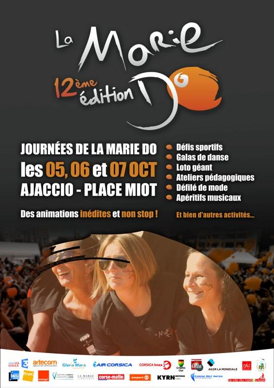 18 ème édition des Journées de la Marie Do du 5 au 7 octobre Place Miot