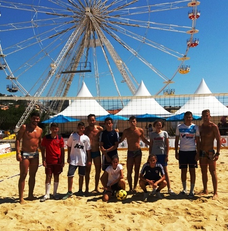 Initiation Footy (Mondial Footvolley Ajaccio 2018)