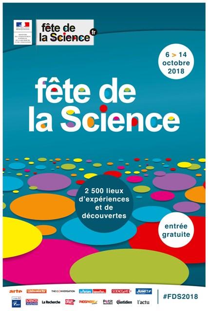Fête de la Science 2018 12 et 13 octobre à Ajaccio