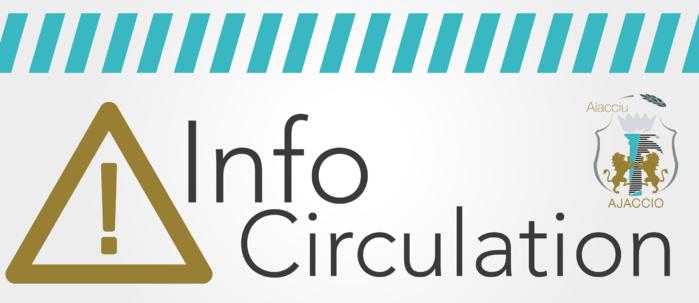 Intervention sur branchement d'eaux usées fermeture de la rue Pozzo di Borgo du mercredi 10 au vendredi 12 octobre 2018