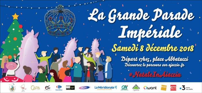 La grande parade impériale Samedi 8 décembre