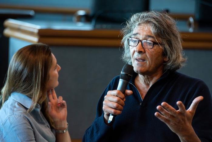 Amélia Tavella et Rudy Ricciotti ont présenté les contours de leur projet dédié au futur conservatoire de musique, de danse et d'art dramatique Henri Tomasi (photos Ville d'Ajaccio).