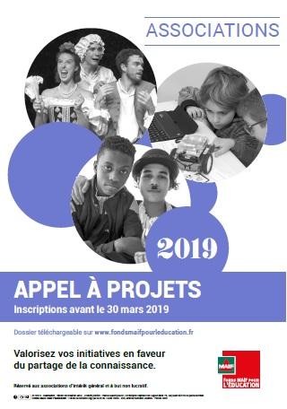 Le Fonds MAIF pour l'Education lance son APPEL A PROJETS 2019