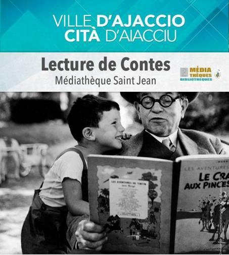 Atelier lecture de Contes Médiathèque Saint Jean