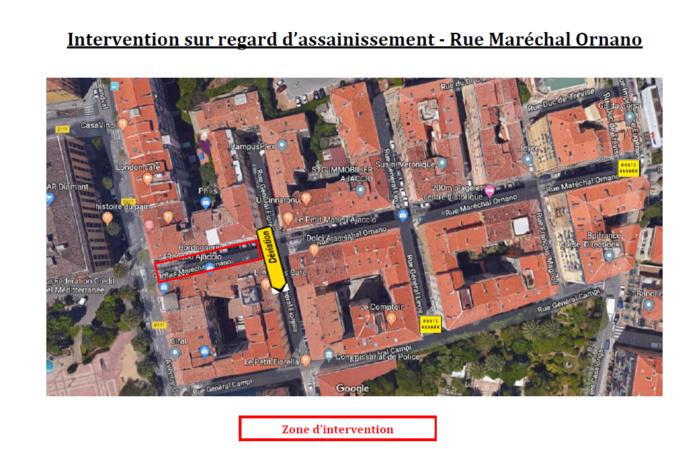 Travaux sur voirie rue Maréchal Ornano dans la nuit du 10 au 11 juillet