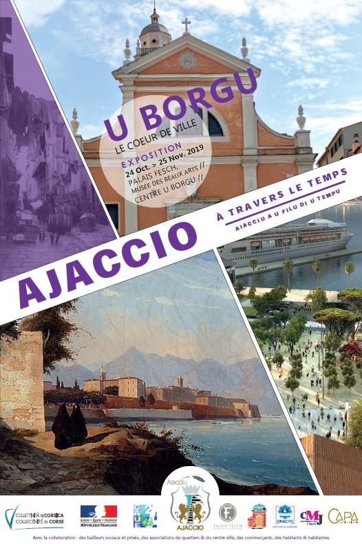 """Exposition """"Ajaccio à travers le temps"""" du 24 octobre au 28 décembre au centre U Borgu et au Palais Fesch"""