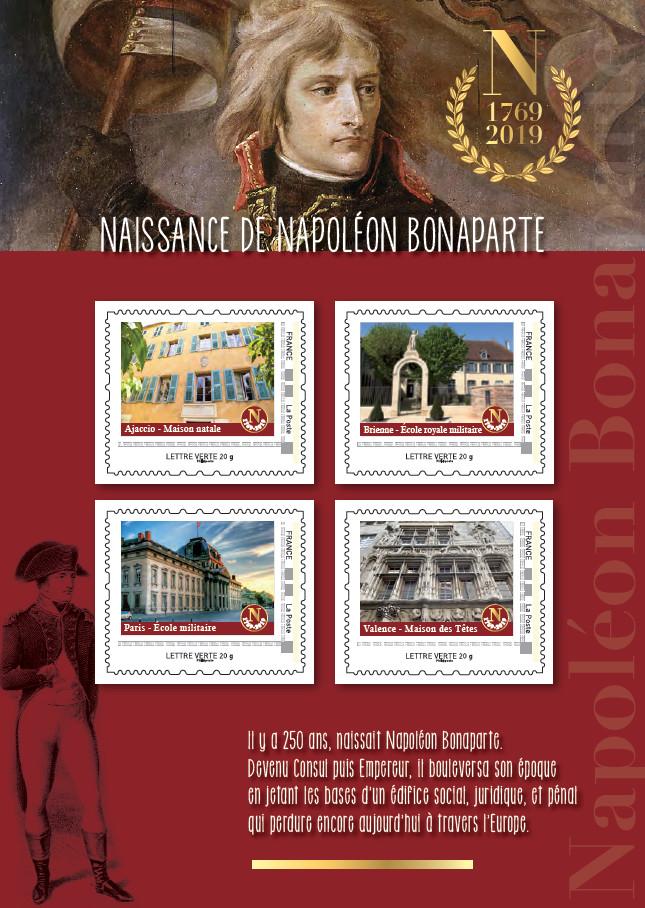 Envoyez des timbres façon Napoléon